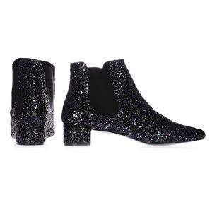 NEW // Topshop Krazy Glitter Boots